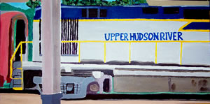 Hudson River Train