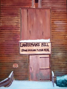 Lanterman's Mill in Mill Creek Park in Youngstown, Ohio